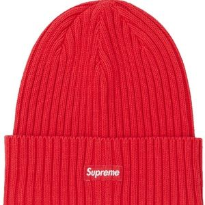 Supreme Overdyed Red Beanie SS19 Collection